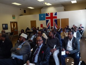 Attended members of Leicester Somali community